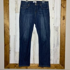 CAbi size 10 jeans the straight blue